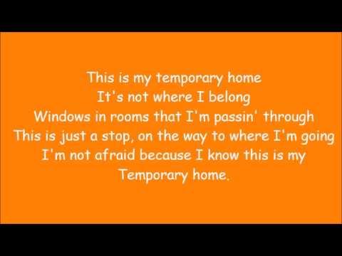 Carrie Underwood ~ Temporary Home (Lyrics)