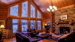 7 Hours Relaxing Atmosphere | Snow, Fireplace & Crackling Fire Sounds