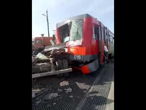 Авария на переезде Красная деревня Невинномысск(1)