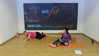 Yoga-Rückenfit für Einsteiger - 35min - medifit Wolfhagen
