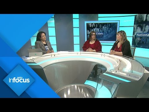 National Inquiry's Hearings with Families of Missing and Murdered Indigenous Women | APTN InFocus