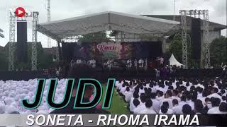 Judi - Title Song   Rhoma Irama- Vocalist   SONETA- Band   NOS Audio Pro - Sound System   LIVE