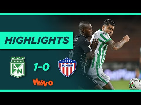 Nacional vs Junior (Gol y Highlights) Liga BetPlay Dimayor 2021-1 | Fecha 12