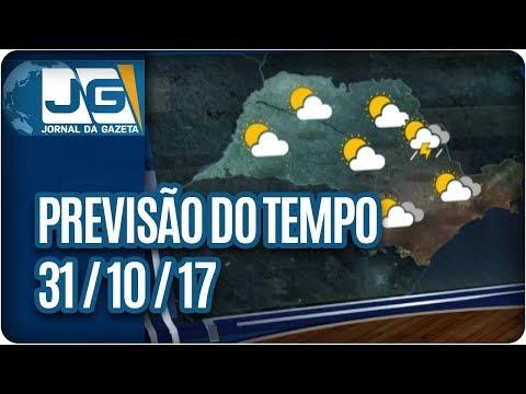 Previsão do Tempo - 31/10/2017