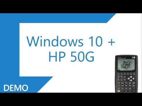 Conectando Windows 10 + HP50G