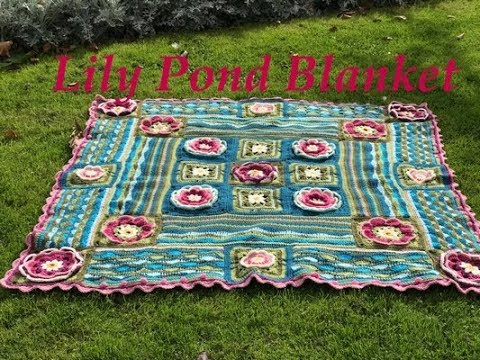 Ophelia Talks About Lily Pond Blanket