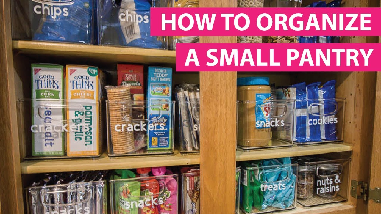 Organizing A Small Pantry With The Konmari Method Free Checklist