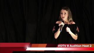 Because Of You - Lily Mathews @VOTV 8 (Audition Heat 2)
