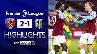 Antonio & Bowen goals maintain winning run! ⚒️| West Ham 2-1 West Brom | EPL Highlights