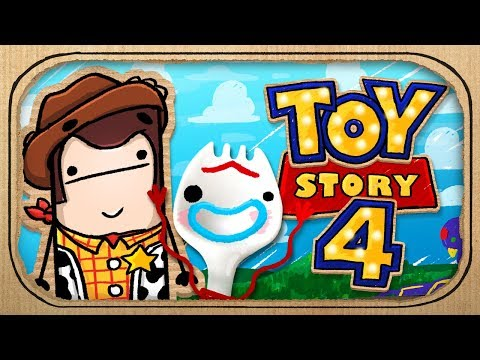 Toy Story 4 Trailer - In a Box! (Cardboard Animation)