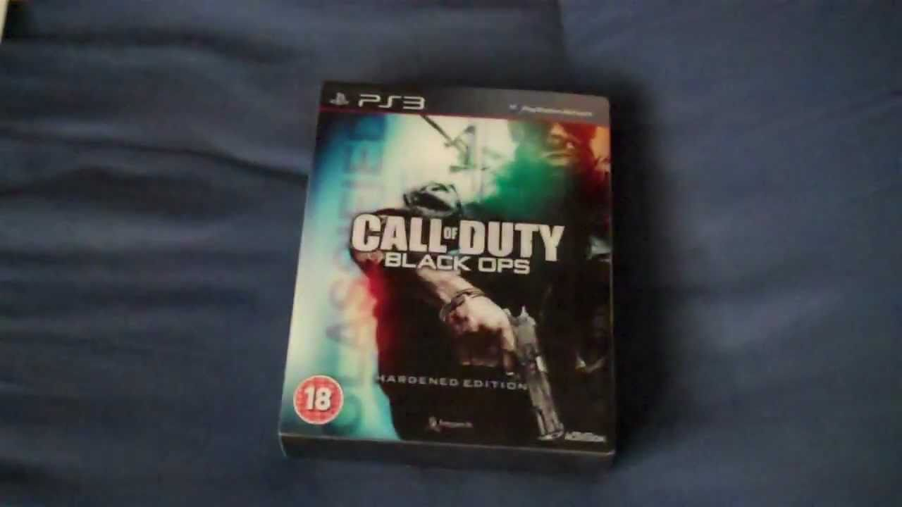 Call of Duty: Black Ops Hardened Edition Unboxing UK PS3