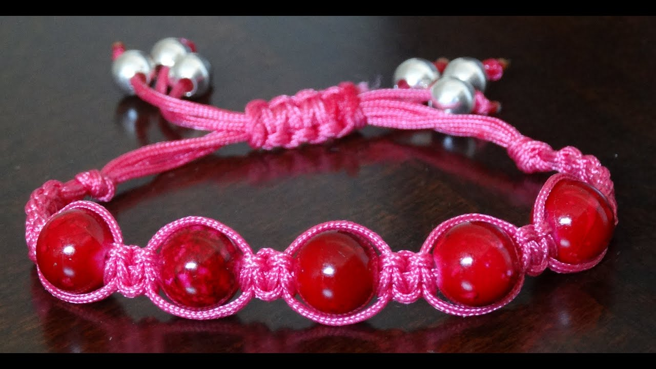 and string img jenny jude beaded silk bracelet bracelets anklet products