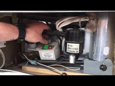 How to set up hot water heater fridge furnace pop up ...