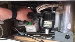 How to set up hot water heater fridge furnace pop up camper
