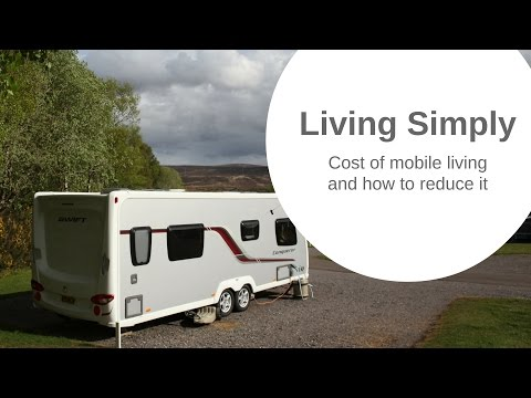 The cost of caravan/motorhome/RV living and how to reduce it