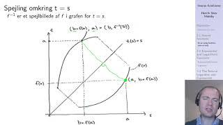 En en tydig funktioner og inverse funktioner