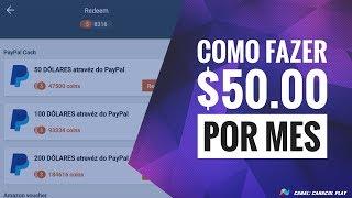 $ 50,00 NO PAYPAL COMO GANHAR MUITO DINHEIRO