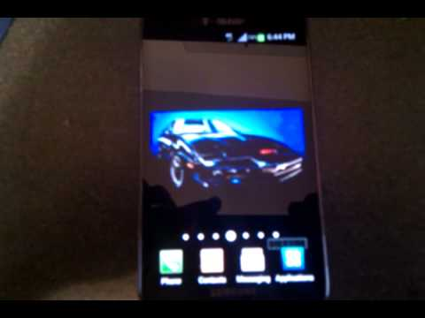knight rider scanner live wallpaper android