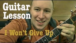 Download Video I Won't Give Up- Guitar Lesson (EASY) Jason Mraz  (Todd Downing) MP3 3GP MP4