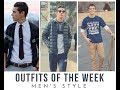 Outfits of the Week // Men's Style