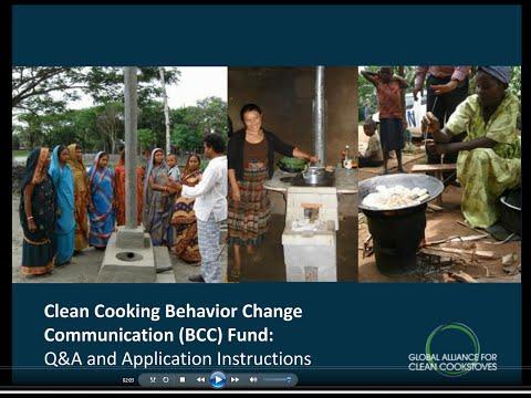 Behavior Change Communication Fund Q&A