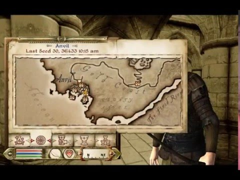 How to - Elder Scrolls Oblivion - Knights of the Nine Event Knights Of The Nine Map on first templar map, thieves guild map, elder scrolls map, dawnstar hearthfire land map,