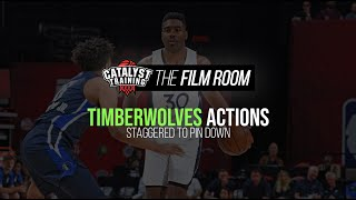 Staggered to Pin Down || Timberwolves Actions
