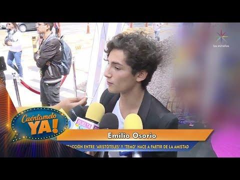 ¡Emilio Osorio se asesora para interpretar un personaje gay! | Cuéntamelo YA!