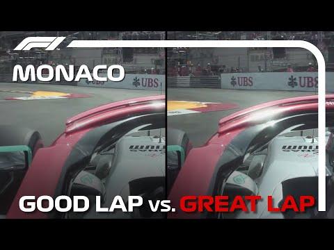 Good Lap vs Great Lap, with Lewis Hamilton   Monaco Grand Prix