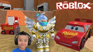 SAVE Lightning McQueen Roblox Escape Obby Game CKN Gaming