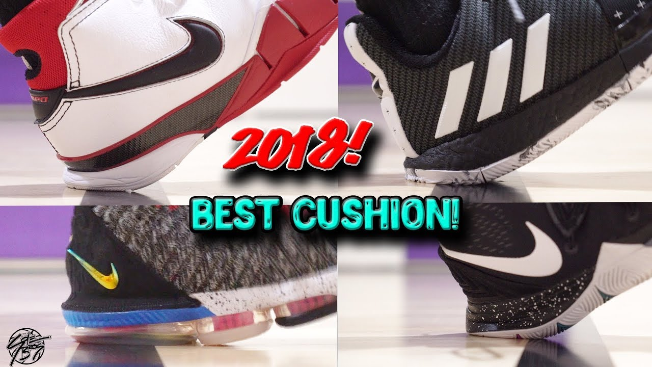 833494fc181 Top 10 Basketball Shoes with the BEST CUSHION of 2018! The Sole Brothers