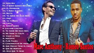 Marc Anthony y Romeo Santos  MIX (EXITOS) | 2019