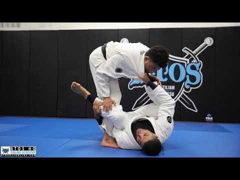 Concepts, Tips  Q&A By Jiu Jitsu World Champion Andre Galvao: Basic Guard Retention Against Leg Drag