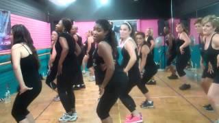 KATIA JACKSON FITNESS - BLURRED LINES - DANCE ROUTINE