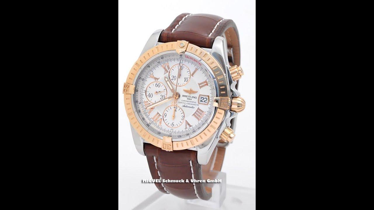 Breitling Chronomat Evolution in Stahl-Roségold  Ref. C13356  (7758)