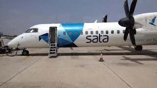 Gambar cover Flight SATA International DASH8 Q400 Madeira Airport FNC to Gran Canaria LPA