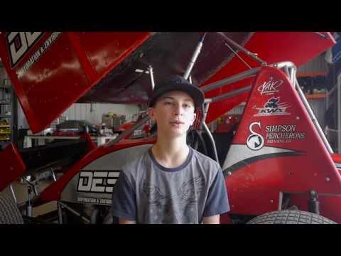 dan simpson racing prodigy 14yr sprint car driver michael buddy kofoid youtube. Black Bedroom Furniture Sets. Home Design Ideas