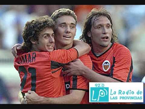 El Valencia CF, campeón de Liga 2001/2002 (LP Radio Valencia)