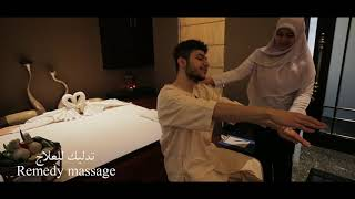 Live Your Life Wellness l Al Areen Palace and Spa- Candle Wax Massage & Remedy Massage