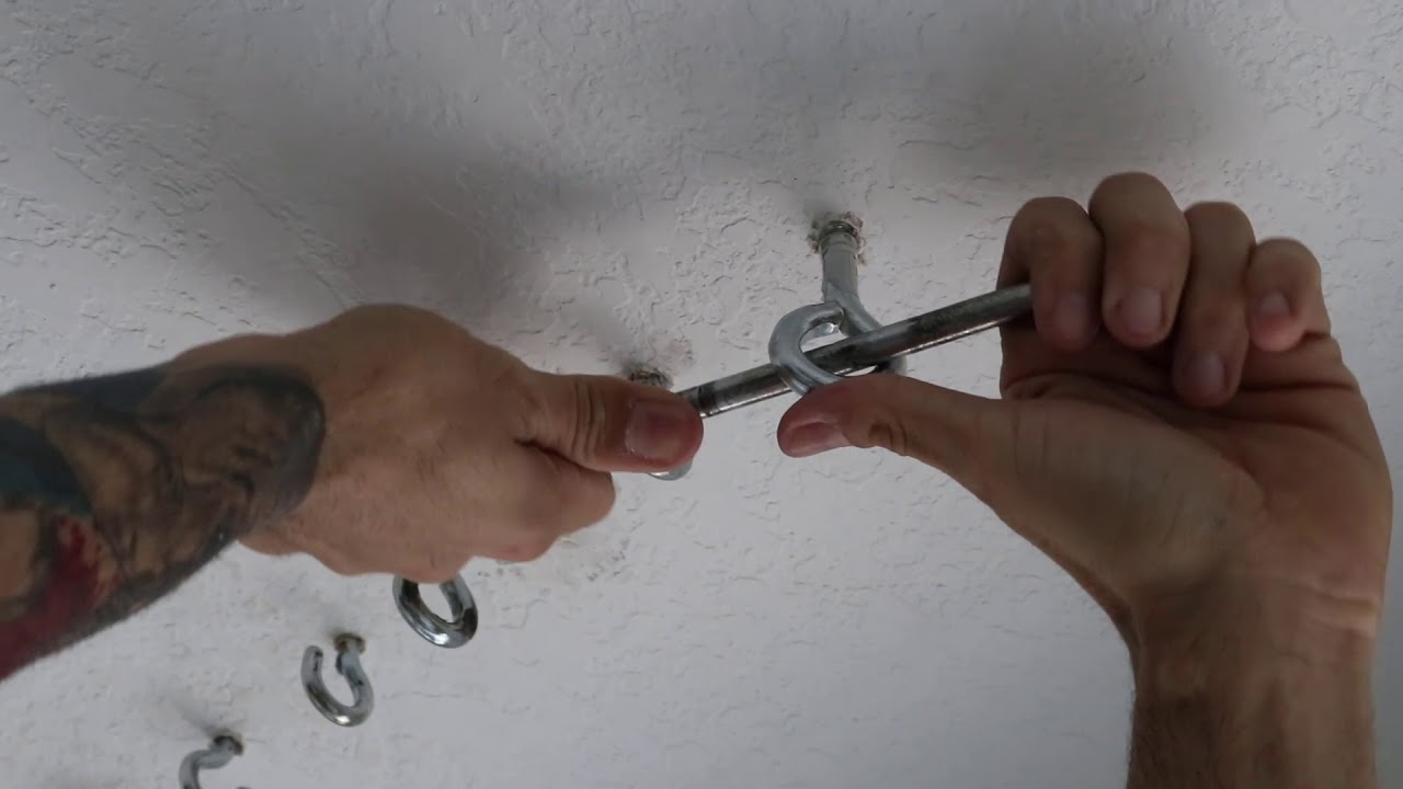 Inexpensive Ceiling Mount Heavy Bag Double End Rings
