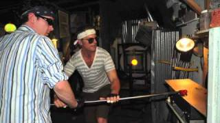 Glass Blowing Lessons / Moonlight Glass John Mooney / Classes / Venice Beach LA CA