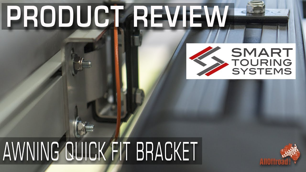 Quick Fit Awning Bracket System Review  ALLOFFROAD 134