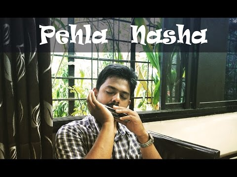 Pehla Nasha -Jo Jeeta Wahi Sikandar    Harmonica cover   Karaoke Accompaniment