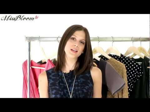 MISS BLOOM TV: Πώς θα επιλέξεις τα φορέματα του φθινοπώρου