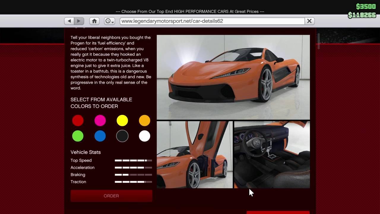 GTA 5 Online (Legendary Motor Sports) 25% Off Sale