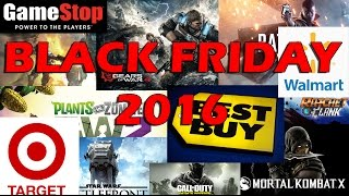 Black Friday 2016: Gamestop, Best Buy, Target, and Walmart