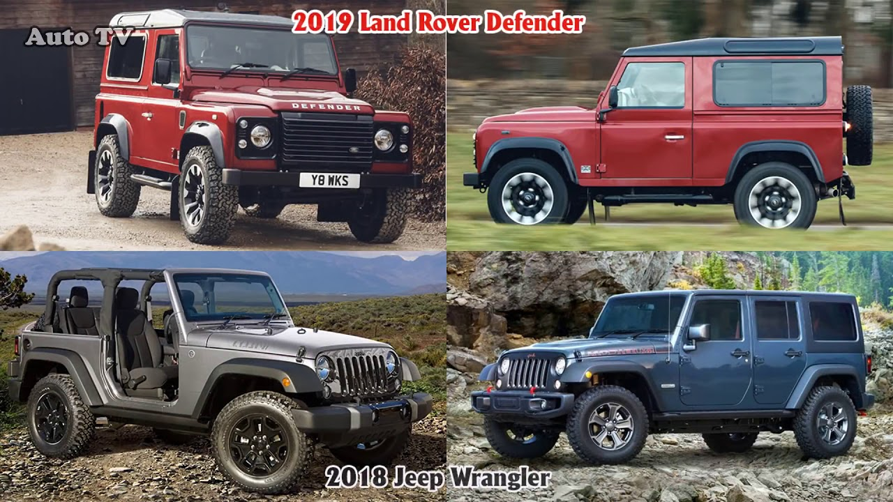 2018 Land Rover Defender Vs 2018 Jeep Wrangler Suv Auto