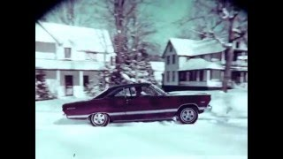 1967 Firestone Winter Tire Commercial - features 1967 Ford Fairlane 500