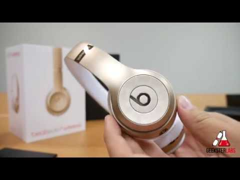 Beats By Dre Solo 3 Wireless Bluetooth Headphones Unboxing Youtube