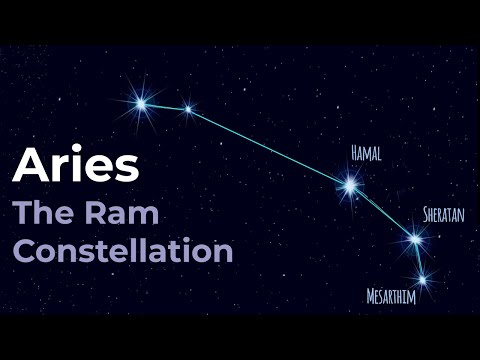 Aries the Ram - Constellation of the Zodiac